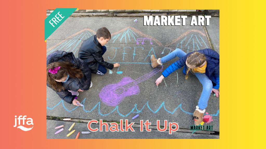 Market Art: Chalk It Up (at the Wharf)